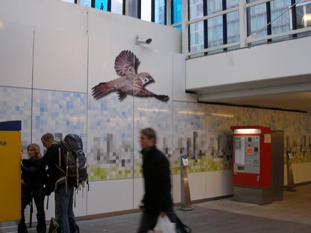 Illustraties voor station Amsterdam Zuid
