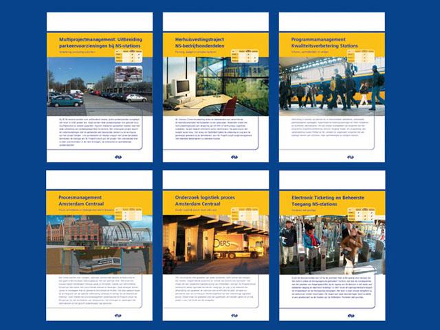 Omslagmap en factsheets NS Projectontwikkeling