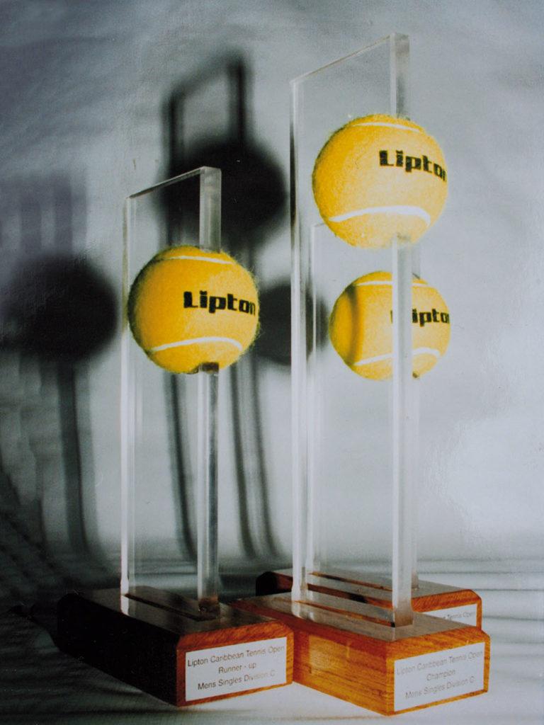Lipton Tennis Tournament trofeeën